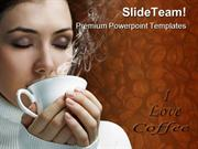 I Love Coffee Health PowerPoint Templates And PowerPoint Backgrounds p