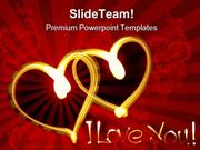 I Love You Wedding PowerPoint Templates And PowerPoint Backgrounds 091