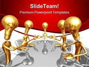 Idea Meeting Business PowerPoint Templates And PowerPoint Backgrounds