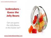 Icebreakers - Guess the Jelly Beans