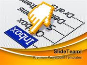 Inbox Emails Internet PowerPoint Templates And PowerPoint Backgrounds