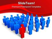 Individuality Concept Leadership PowerPoint Templates And PowerPoint B