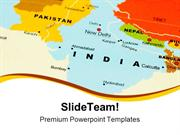 India On Map Globe PowerPoint Templates And PowerPoint Backgrounds ppt