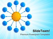 Info Wheel Leadership PowerPoint Templates And PowerPoint Backgrounds