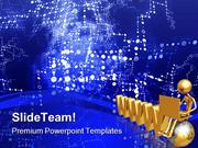 Information Exchange Computer PowerPoint Templates And PowerPoint Back