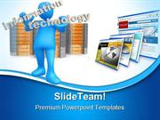 Information Technology Internet PowerPoint Templates And PowerPoint Ba