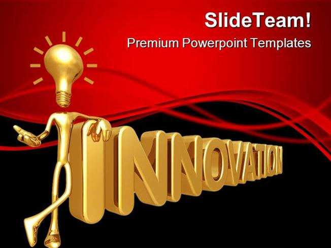 innovation business powerpoint themes and powerpoint slides ppt de