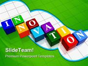 Innovation Cubes Business PowerPoint Templates And PowerPoint Backgrou