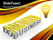 Innovation Idea Business PowerPoint Templates And PowerPoint Backgroun