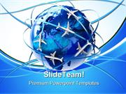 International Air Travel Transportation PowerPoint Templates And Power