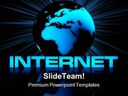 Internet And Globe Computer PowerPoint Templates And PowerPoint Backgr
