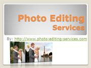 Photo editing services at affordable rates