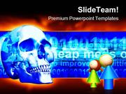 Internet Dangers Computer PowerPoint Templates And PowerPoint Backgrou