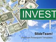 Invest Money PowerPoint Templates And PowerPoint Backgrounds 0211