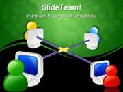 Internet Networking Communication PowerPoint Templates And PowerPoint