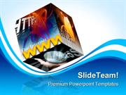Internet Www Web Computer PowerPoint Templates And PowerPoint Backgrou