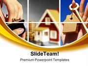 Invest In Real Estate Finance PowerPoint Templates And PowerPoint Back