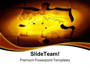 Investment Puzzle Business PowerPoint Templates And PowerPoint Backgro