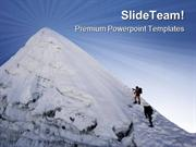 Island Peak In Nepal Holidays PowerPoint Templates And PowerPoint Back