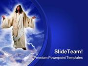 Jesus Christ Religion PowerPoint Templates And PowerPoint Backgrounds