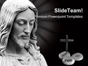 Jesus Religion PowerPoint Templates And PowerPoint Backgrounds ppt sli
