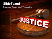 Justice Law PowerPoint Templates And PowerPoint Backgrounds pgraphic d