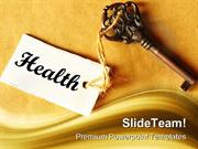 Key To Health Medical PowerPoint Templates And PowerPoint Backgrounds