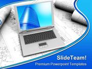 Laptop Computer PowerPoint Templates And PowerPoint Backgrounds ppt th