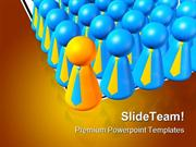 Leader And Leadership Business PowerPoint Themes And PowerPoint Slides