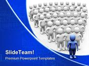 Leader Team Leadership PowerPoint Templates And PowerPoint Backgrounds