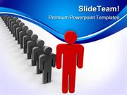 Leader Leadership PowerPoint Templates And PowerPoint Backgrounds ppt
