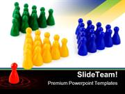 Leader Team Business PowerPoint Templates And PowerPoint Backgrounds p