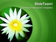 Lotus Flower Nature PowerPoint Templates And PowerPoint Backgrounds pp