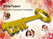 Love Solution Wedding PowerPoint Templates And PowerPoint Backgrounds