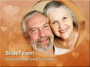 Loving Mature Couple Family PowerPoint Templates And PowerPoint Backgr