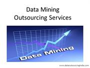 Data Mining Outsourcing Services