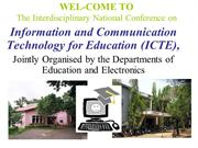 ICT for Teaching and, Research and Learning Process modified