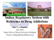 Indian Law on Drugs
