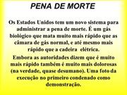 PENA DE MORTE