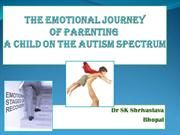 THE EMOTIONAL JOURNEY OF PARENTING A CHILD ON THE AUTISM SPECTRUM
