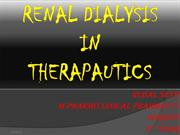 Dialysis
