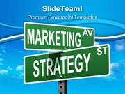 Marketing Strategy Business PowerPoint Templates And PowerPoint Backgr