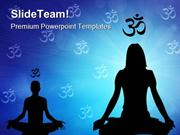 Meditation Health PowerPoint Templates And PowerPoint Backgrounds ppt