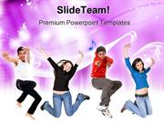 Melody Music PowerPoint Templates And PowerPoint Backgrounds ppt desig