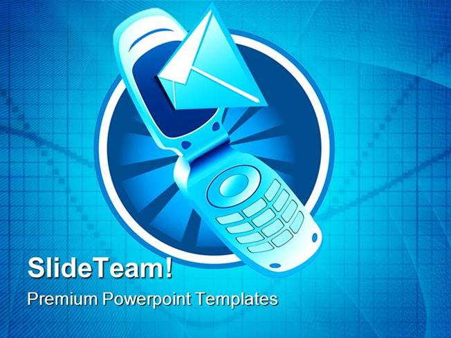 Mobile Phone Technology Powerpoint Templates And Powerpoint