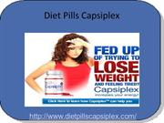 Reduce Your Weight Naturally With Diet Pills Capsiplex