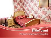 Modern Bedroom Children PowerPoint Themes And PowerPoint Slides ppt de