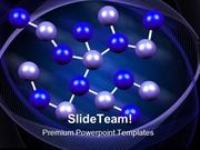 Molecules Formation Medical PowerPoint Templates And PowerPoint Backgr