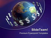 Money Around World Global PowerPoint Templates And PowerPoint Backgrou