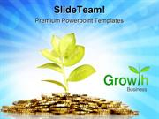 Money Growing Business PowerPoint Templates And PowerPoint Backgrounds